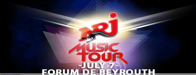 The Biggest Concert Event to Hit Lebanon is Here! NRJ Music Tour 2012