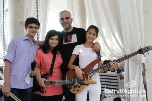 Celebrating World Music Day at the Phoenicia Hotel Beirut