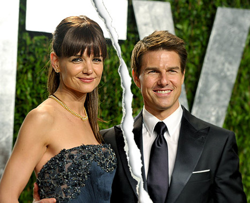 Tom Cruise and Katie Holmes Divorcing After 5 Years!