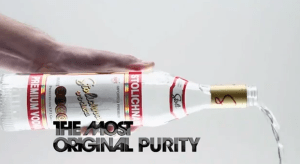 The Most Original People Deserve The Most Original Vodka
