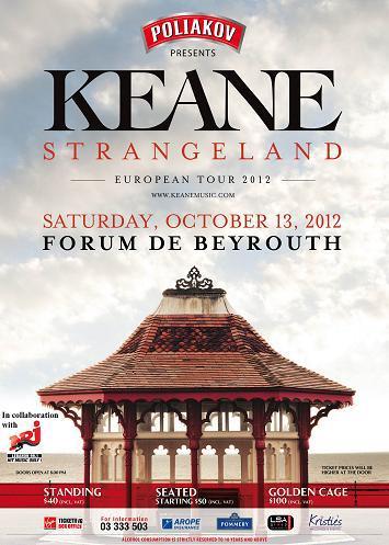 KEANE Live In Beirut