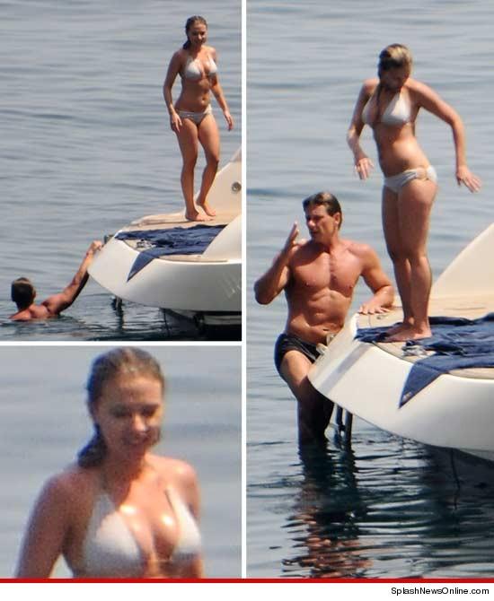 Check Out Scarlett Johansson's Voluptuous Bikini Body