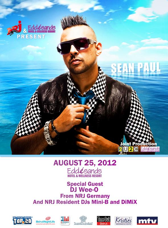 Sean Paul Live At Edde Sands