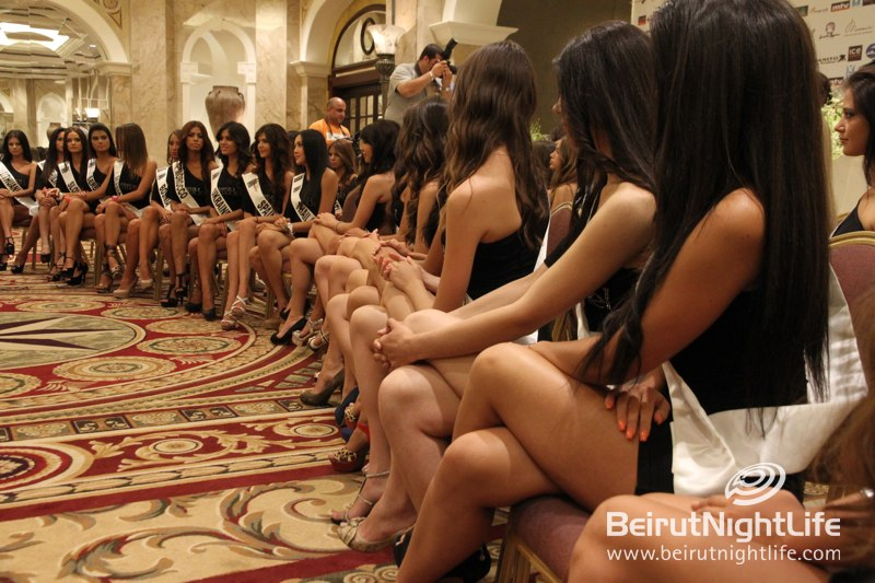 Akl Fakih, Khanito and Miss World Next Top Models All Together for a Great Press Conference