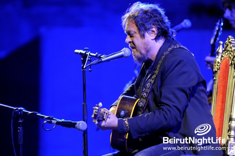 Zucchero rises at Baalbeck International Festival 2012