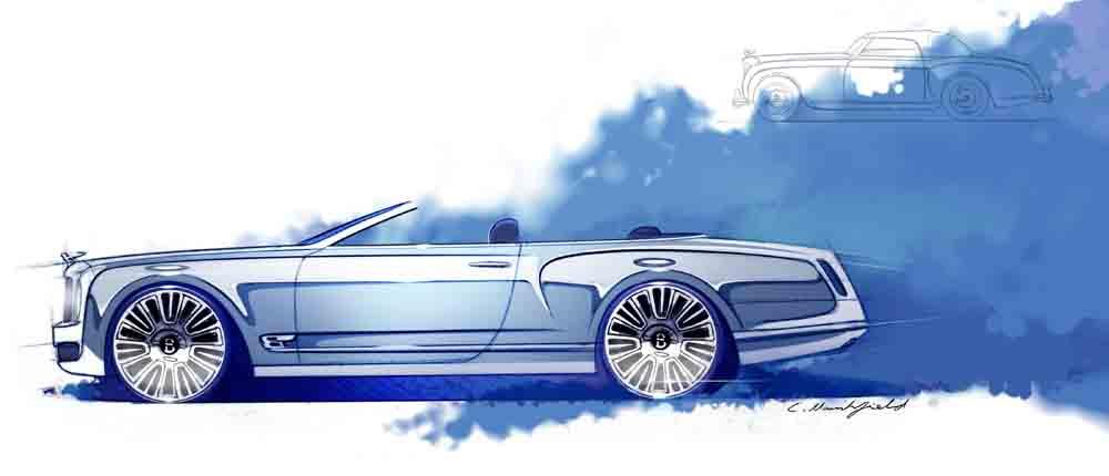 Bentley Announces New Mulsanne Vision- The World's Most Elegant Convertible