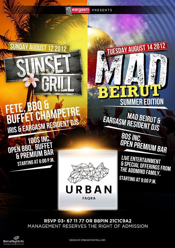 MAD Beirut Summer Edition At Urban Faqra