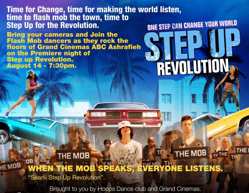 Join Flash Mob Dancers at Grand Cinemas' Premiere of Step Up Revolution