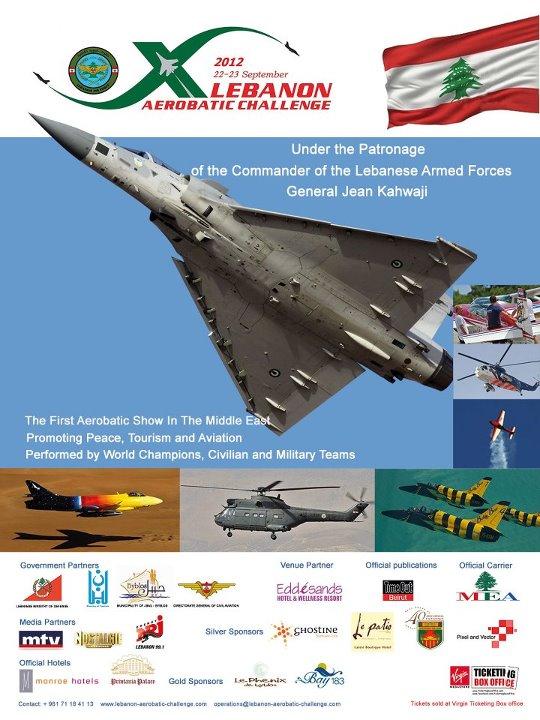 Lebanon Aerobatic Challenge 2012