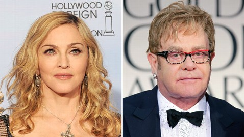 Elton John Cusses Out Madonna!