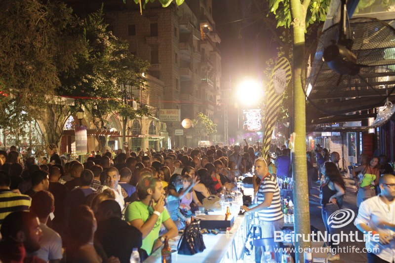 The World's Longest Bar Happened in Jounieh Once Again!
