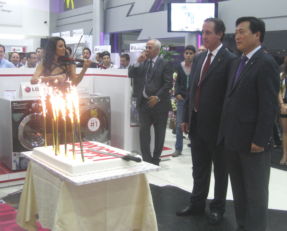 LG Electronics Inaugurates the Middle East's Largest Brand Shop in Lebanon