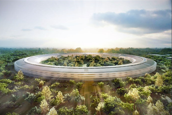 The New Apple Spaceship-like Mega Campus Revealed