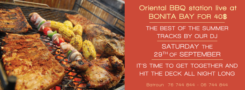 Special Oriental Night Barbecue At Bonita Bay