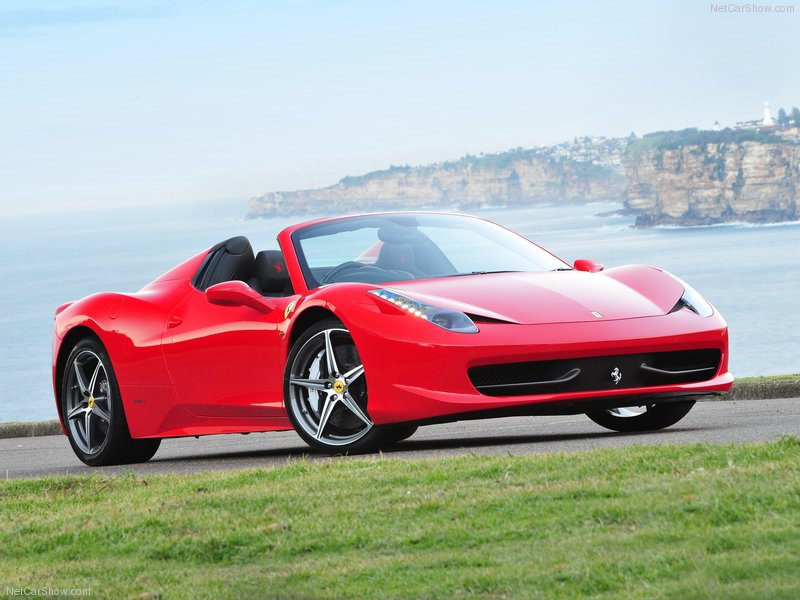 The Ferrari 458 Spider 2013