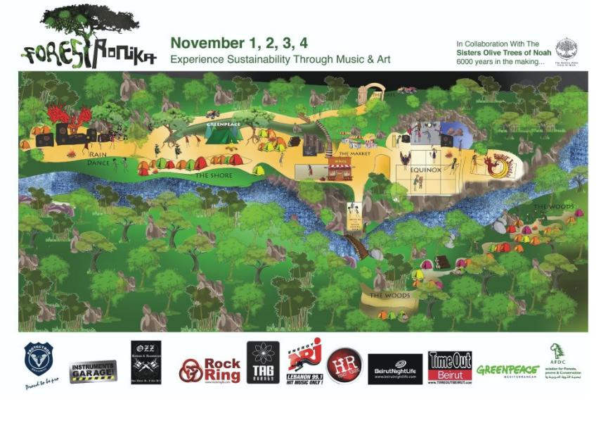 Come Experience Sustainability Through Music and Art at Forestronika Festival