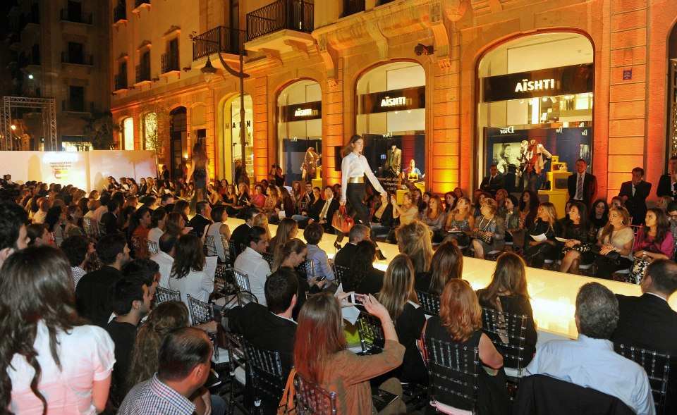 Aïshti Fashion Show- MasterCard Aïshti Fashion Experience Beirut 2012