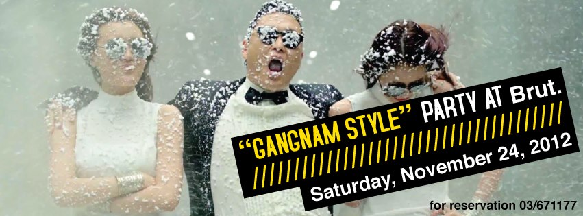 Gangnam Style Party At Brut