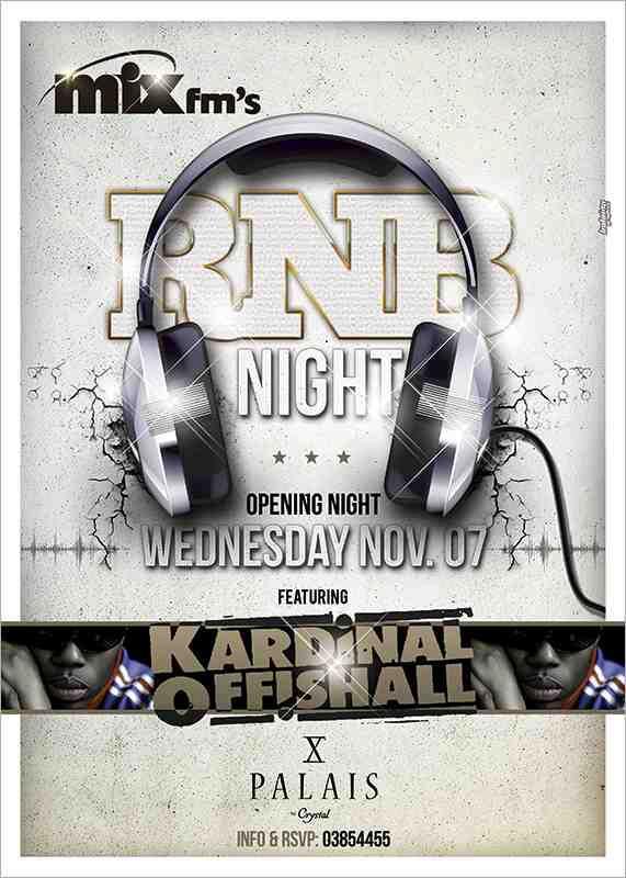 RNB Night At Palais by Crystal