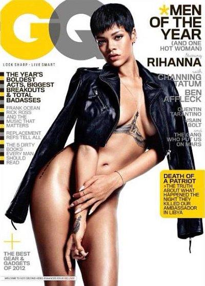 Rihanna: Nude GQ Cover Girl!