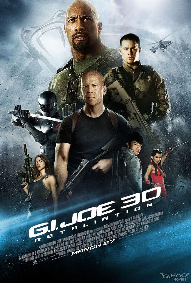 New International Poster for G.I. Joe: Retaliation