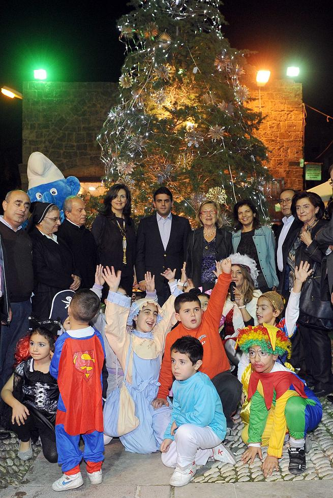 Byblos Festival Organizing Committee Light Up Christmas