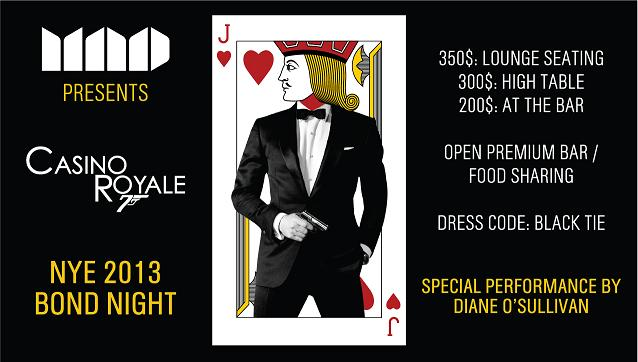 New Year's Eve At MAD-Casino Royale-