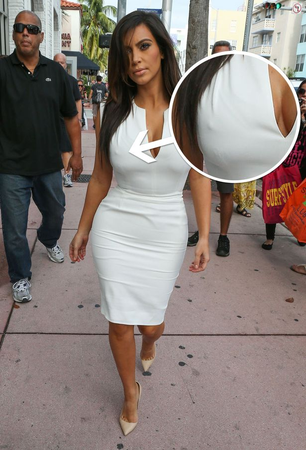 Kim Kardashian, another awkward moment! - BNL