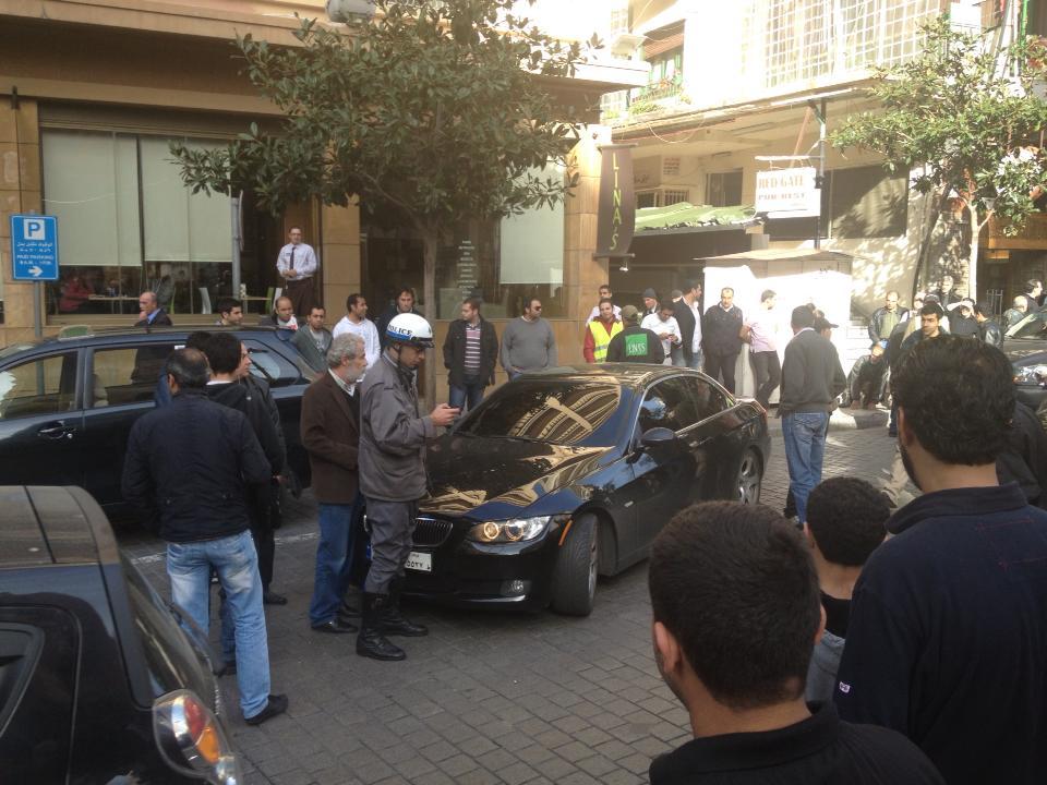 Hayfa Wehbe's Sister Shuts Down Hamra Road