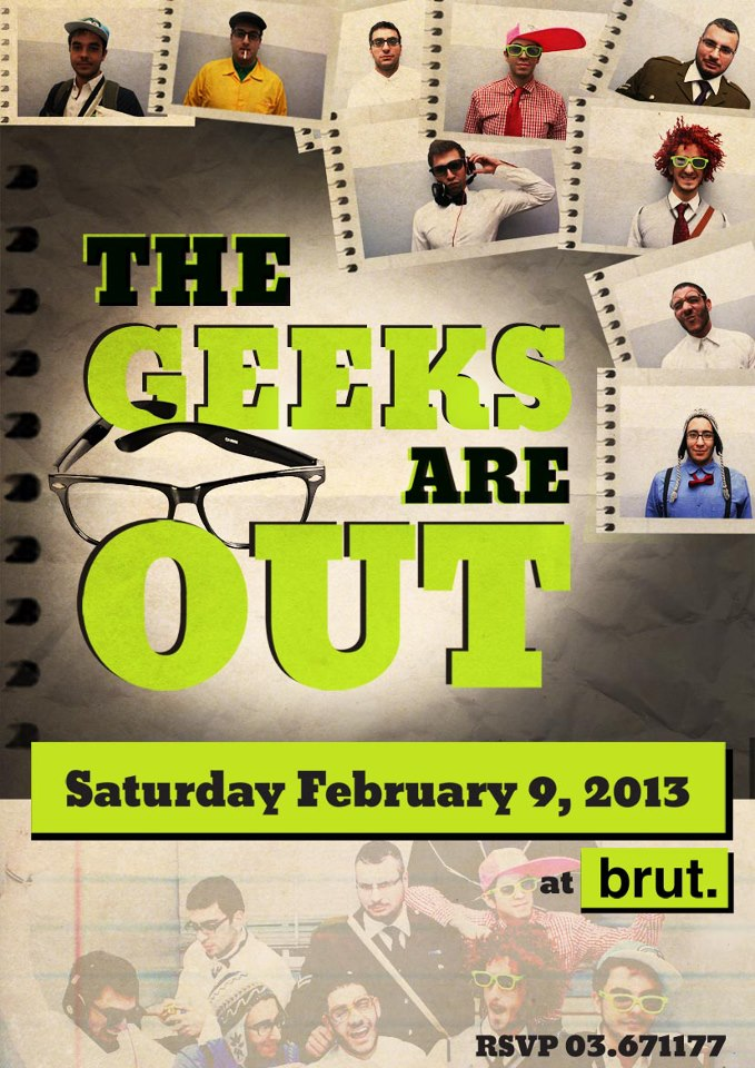 The Geeks Are Out At Brut