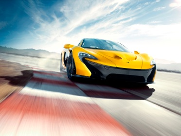 McLaren P1™:  The number cruncher