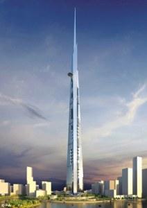 The Saudi Shard: Skyscraper at ONE KILOMETRE high