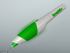 Vibrating pen lets you know when you make a spelling or grammar mistake