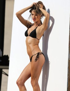 Alessandra Ambrosio turns up the heat in a sizzling bikini shoot