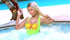 Nicki Minaj Nipple Slip!