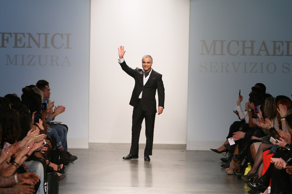 "Michael Fenici ""REFRESHING"" & ""MAGNIFICENT"" at New York Fashion Week"