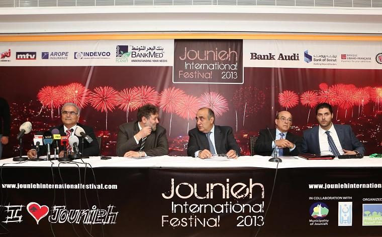 Jounieh International Festival 2013 Press Conference