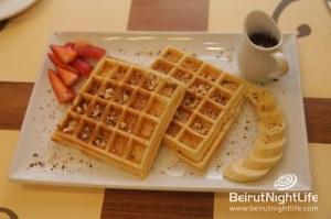 Waffles! Waffles! Come Get Your Waffles at L'eau A La Bouche!