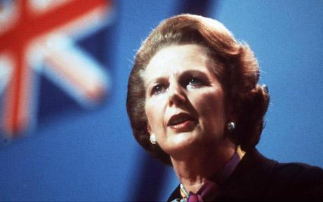 Iron Lady Margaret Thatcher dies after a stroke