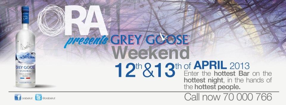 Grey Goose week-end at Ora Beirut