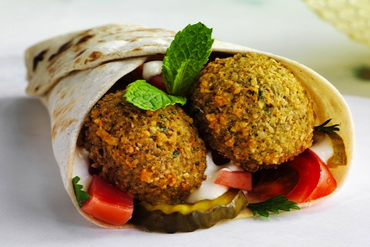 Japanese version of a Falafel: A Life  Changing Experience
