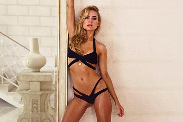 Made in Chel-sea! Kimberley Garner shows off her swimwear range