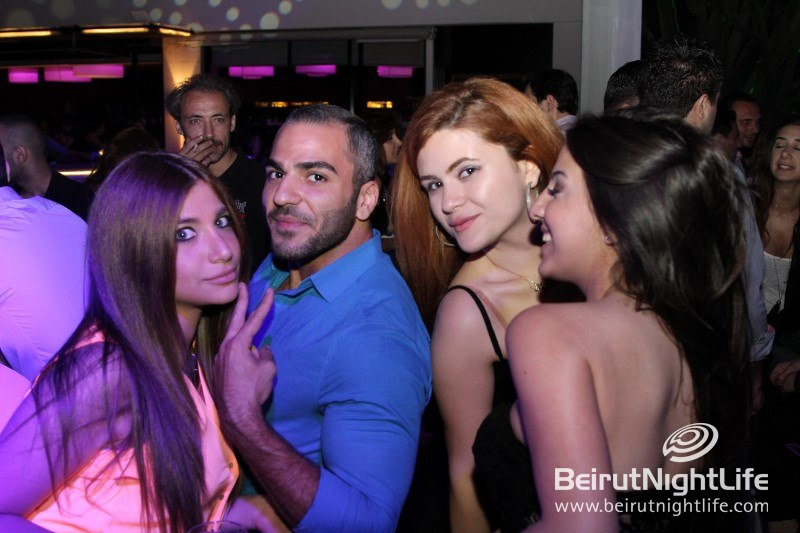 C-Lounge hugs the Beirut shores on its opening night
