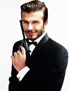 David Beckham, the next James Bond?