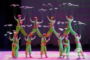 A SPLENDID Circus with the China National Acrobatic Troupe at Beiteddine Festival
