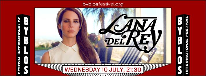 Lana Del Rey at Byblos International Festival
