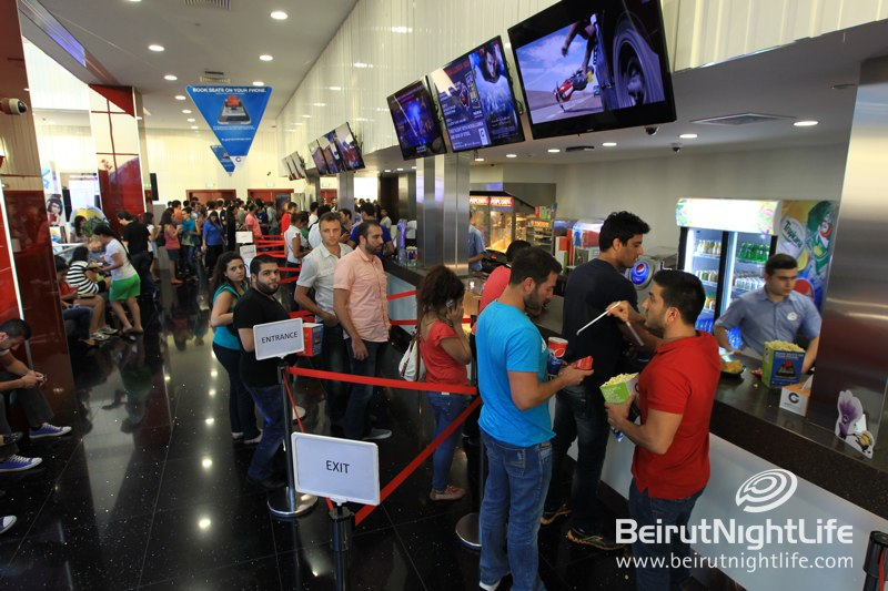 Man of Steel Premiers at Grand Cinemas ABC Dbayeh