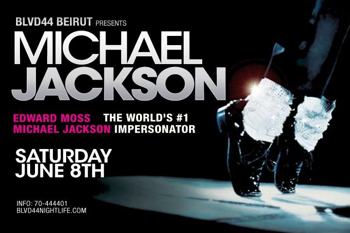Michael Jackson Resurrects at BLVD 44
