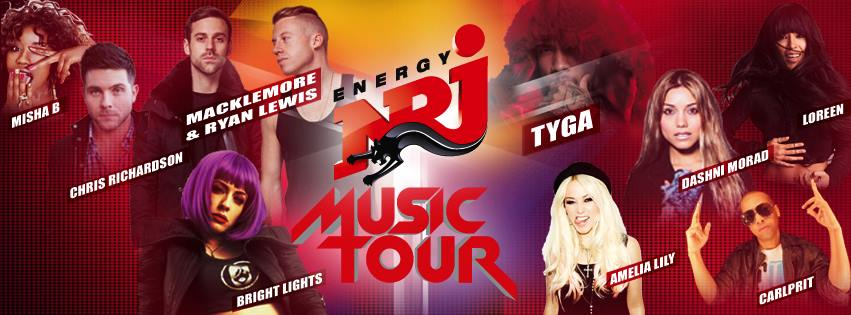 Getting Ready for the NRJ Music Tour 2013!