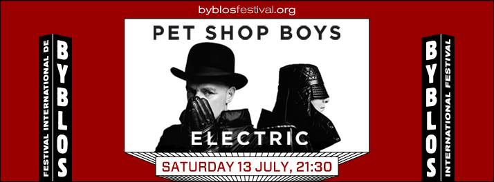 Pet Shop Boys at Byblos International Festival